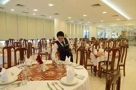 Nhà hàng khách sạn Green plaza
