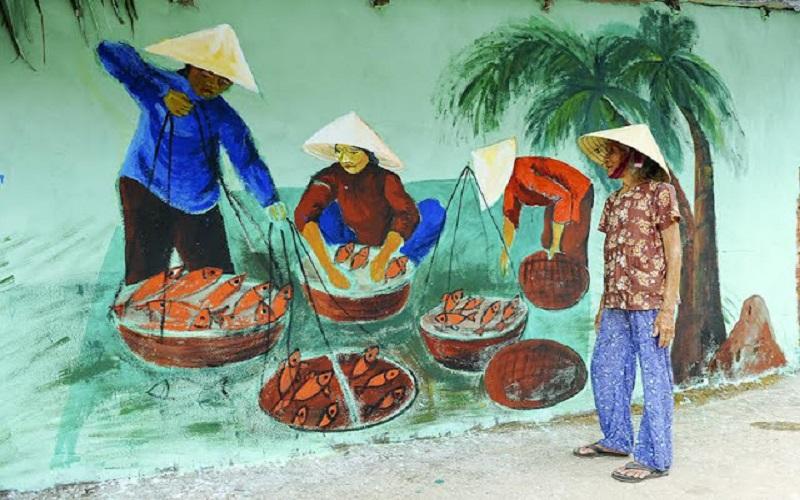 Làng bích họa Đà Nẵng - điểm đến thú vị mới tại Đà Nẵng