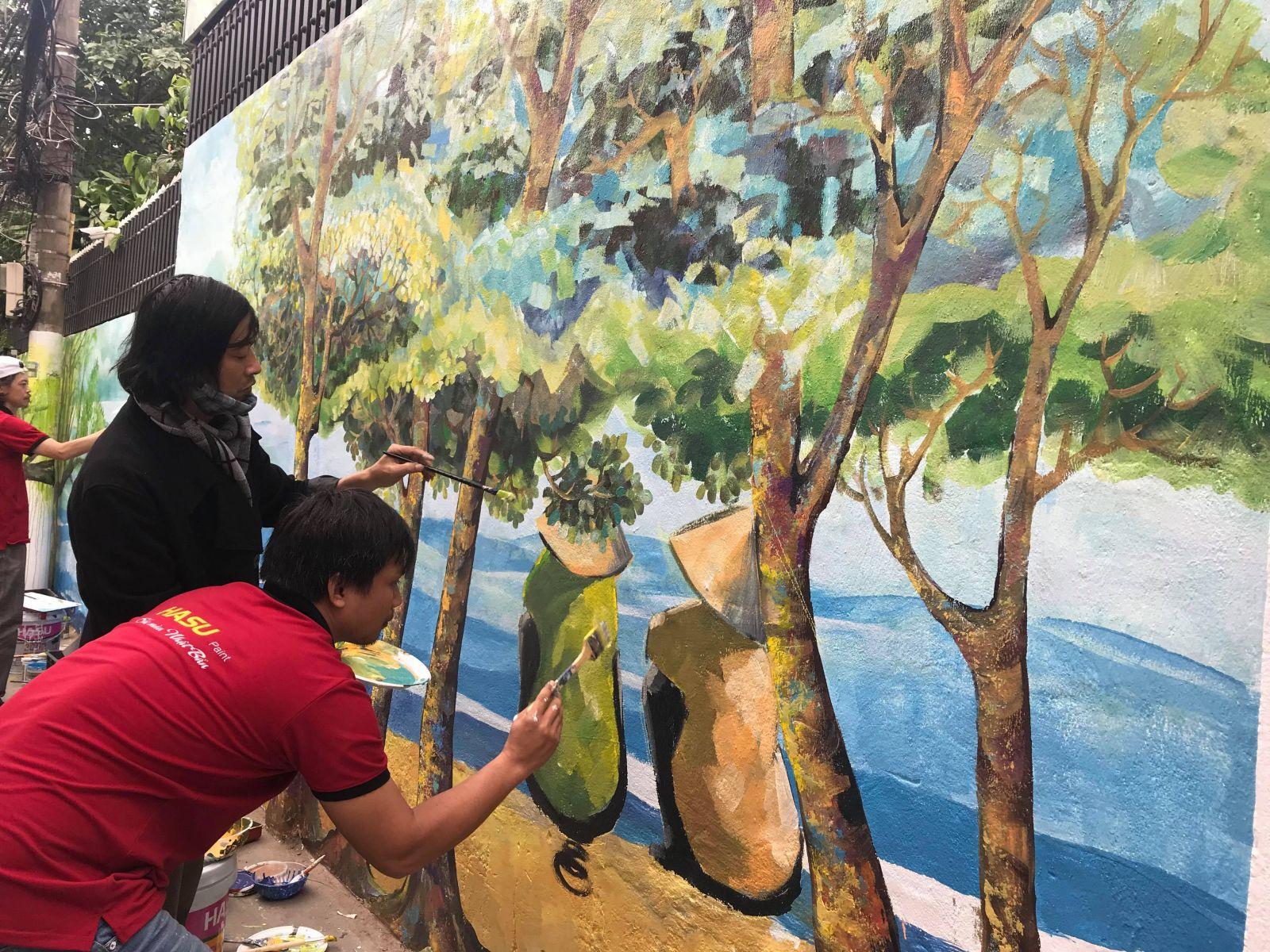 Làng bích họa Đà Nẵng - dự án nhận được rất nhiều sự ủng hộ của người dân