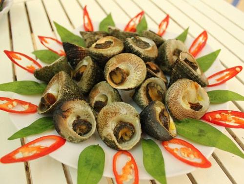 Món ăn tại Cù Lao Chàm