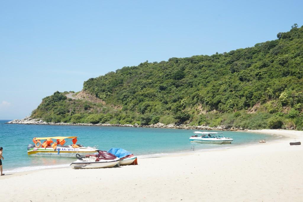 Bãi biển đẹp tại Cù Lao Chàm