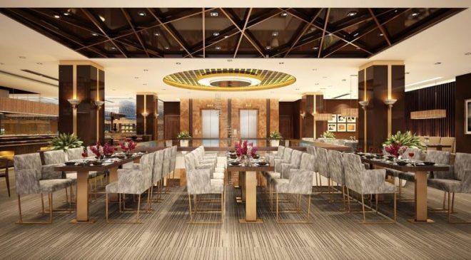 Tọa lạc tại tầng 2 với phong cách bày trí ấm cúng, hiện đại và độc đáo, nhà hàng Grand Sea tự hào mang hương vị của ẩm thực cả Á và Âu đến với thực khách.