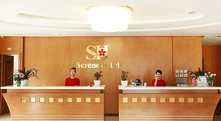 Tiền sảnh khách sạn Serene Đà Nẵng