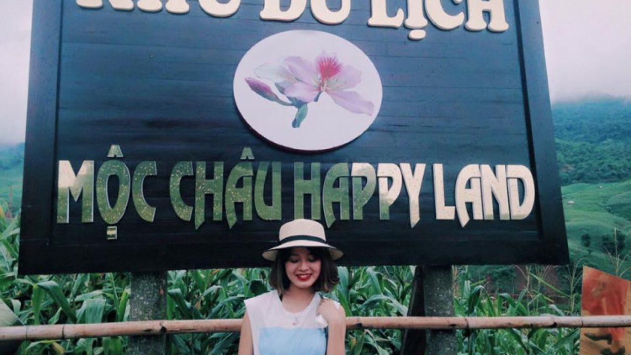 đến tham quan vườn hoa Happy Land bạn sẽ có cơ hội tham gia trải nghiệm rất nhiều trò chơi