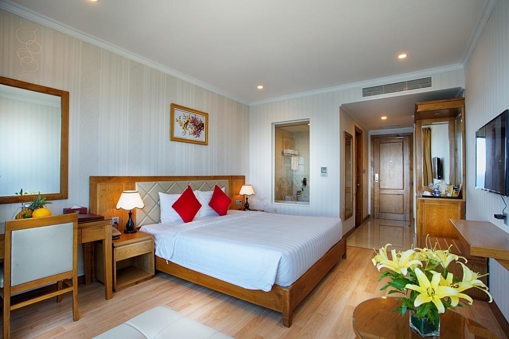 Phòng Deluxe Twin khách sạn Serene Đà Nẵng 4 sao