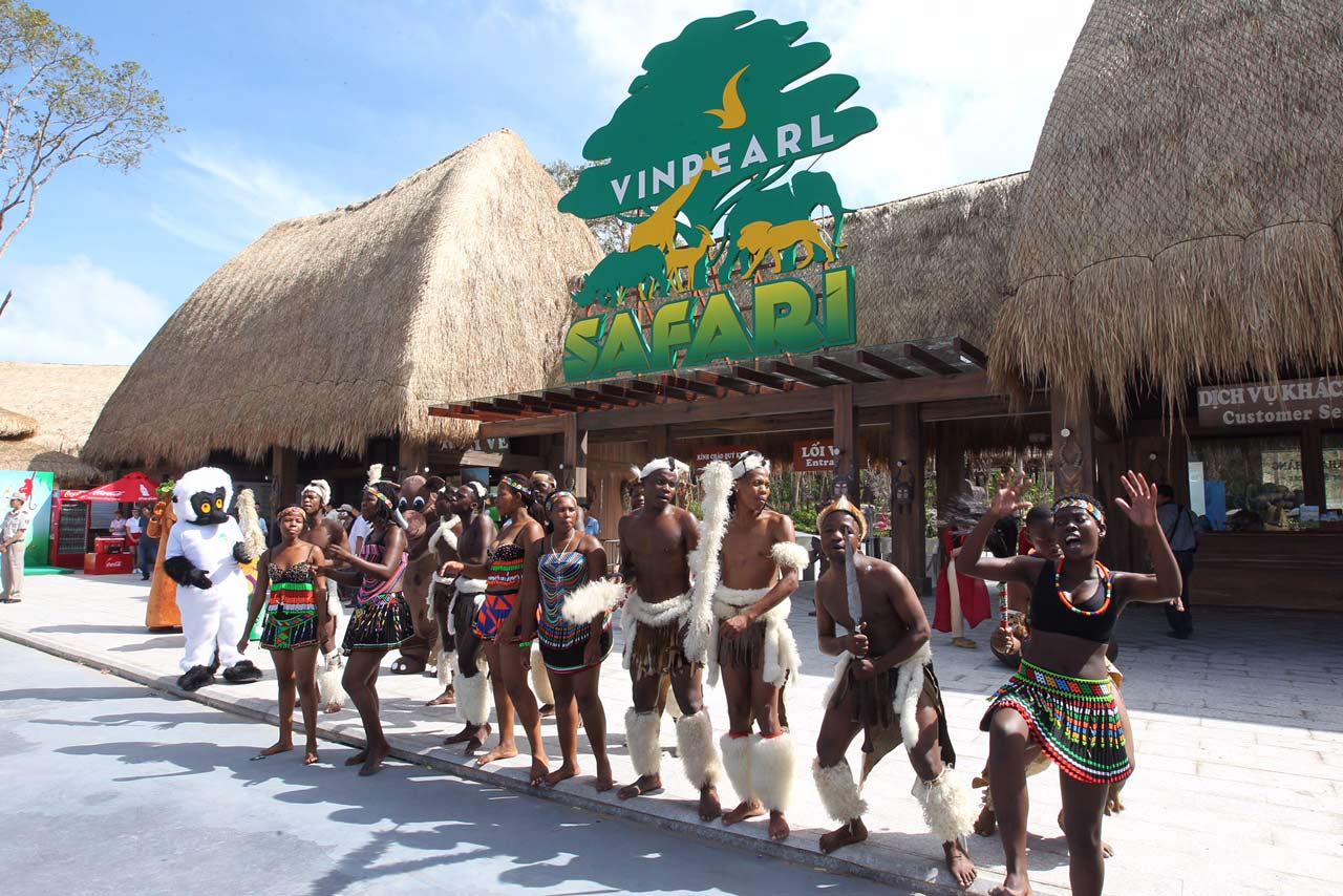 Vinpearl Safari Phú Quốc - Công viên vườn thú mang vẻ đẹp hoang dã
